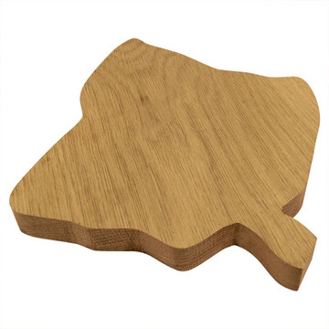 Alpha Phi Leaf Board or Plaque Side