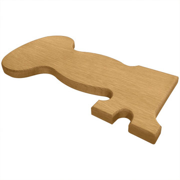 Kappa Kappa Gamma Key Board or Plaque Side