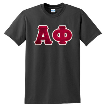 Fraternity & Sorority Lettered Gildan T-Shirt
