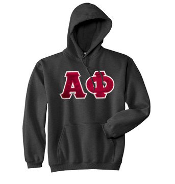Fraternity & Sorority Lettered Gildan Hoodie