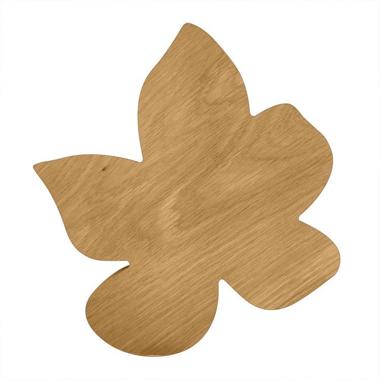 Blank Wooden Violet Board or Plaque