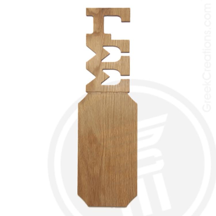 Gamma Sigma Sigma 21 Inch Blank Greek Letter Paddle