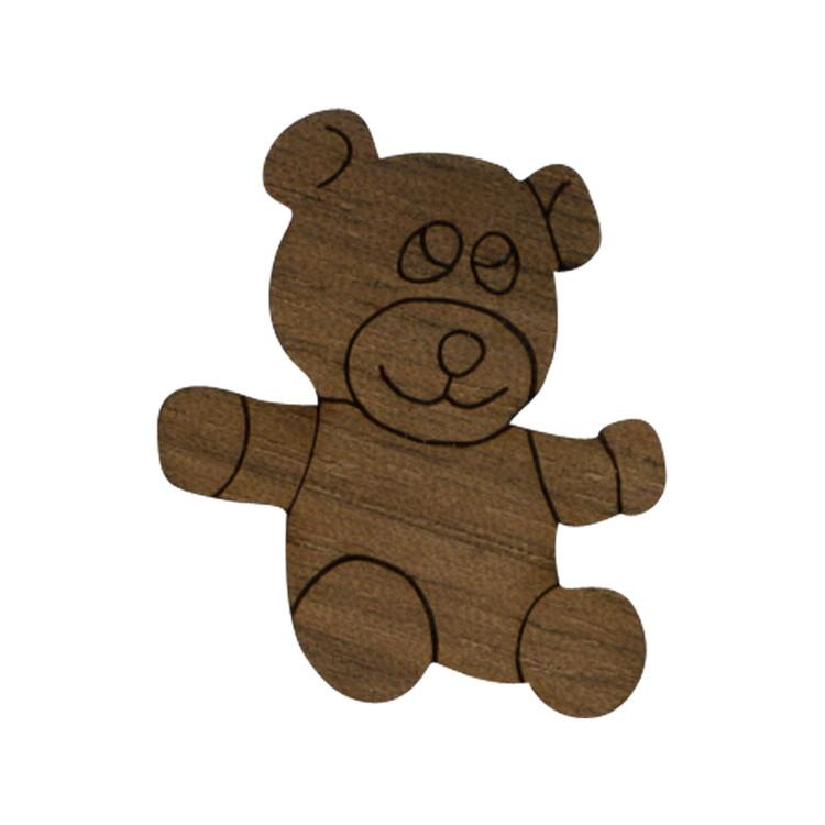 Wooden Bear Symbol