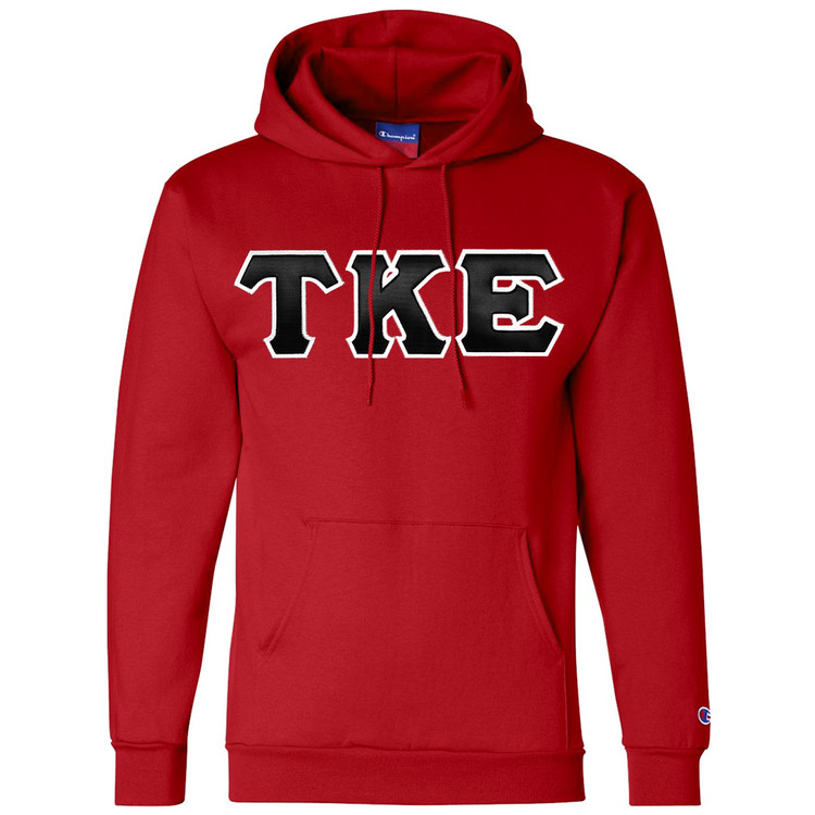 Fraternity & Sorority Lettered Champion Hoodie
