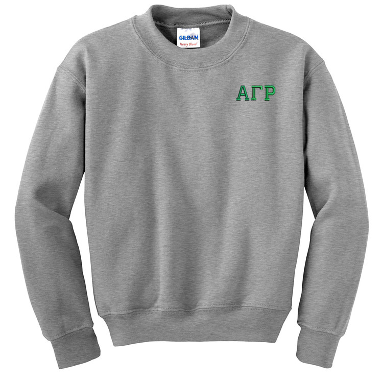 Fraternity & Sorority Embroidered Gildan Crewneck Sweatshirt