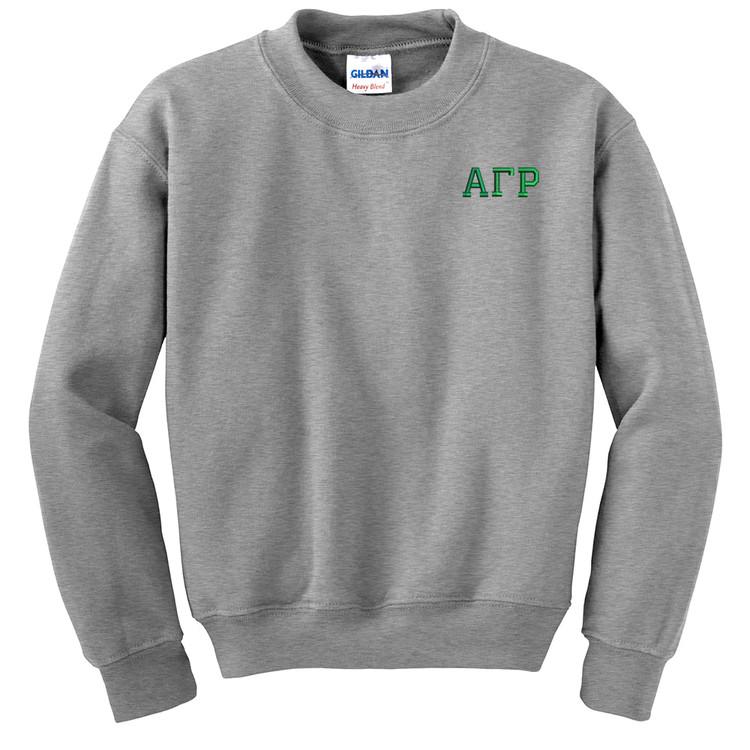 Fraternity & Sorority Embroidered Gildan Crewneck Sweatshirt