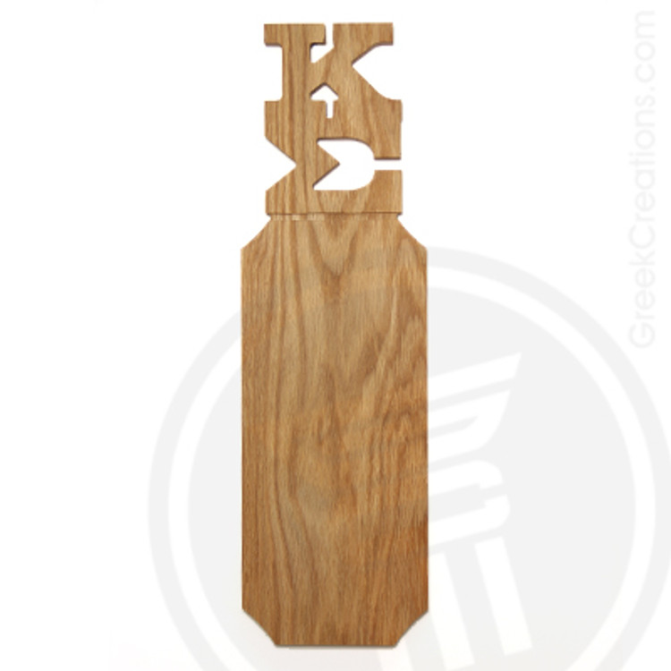Kappa Sigma 21 Inch Blank Greek Letter Paddle