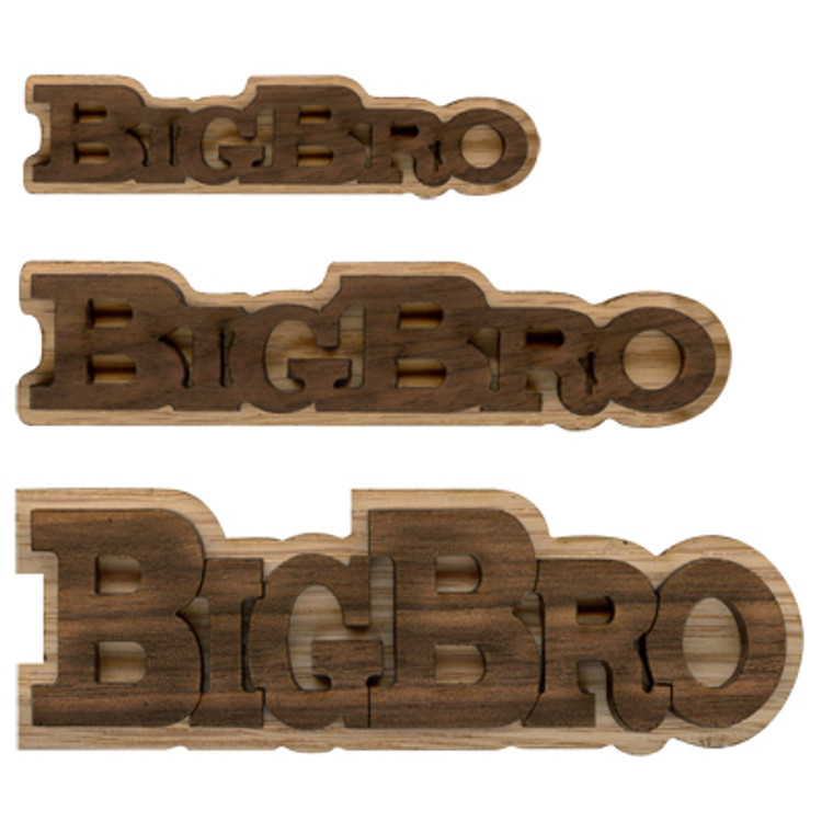 Double Layer Logo Text -  Big Bro