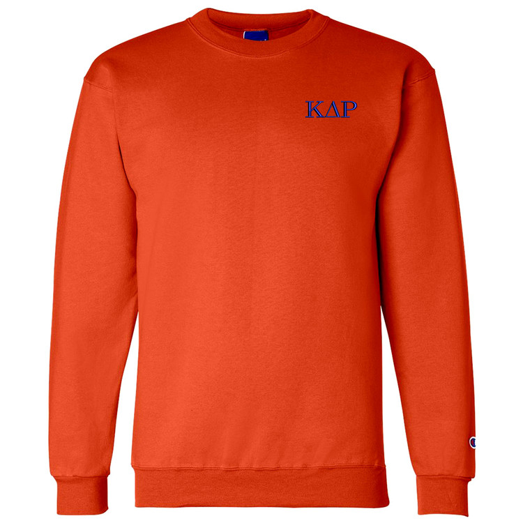 Fraternity & Sorority Embroidered Champion Crewneck Sweatshirt