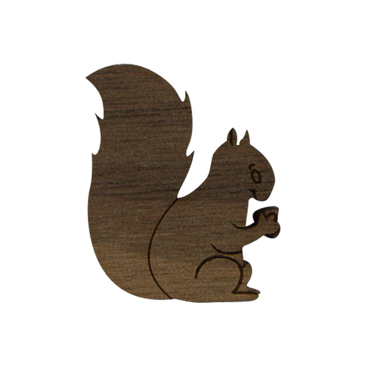 Wooden Squirrel Symbol
