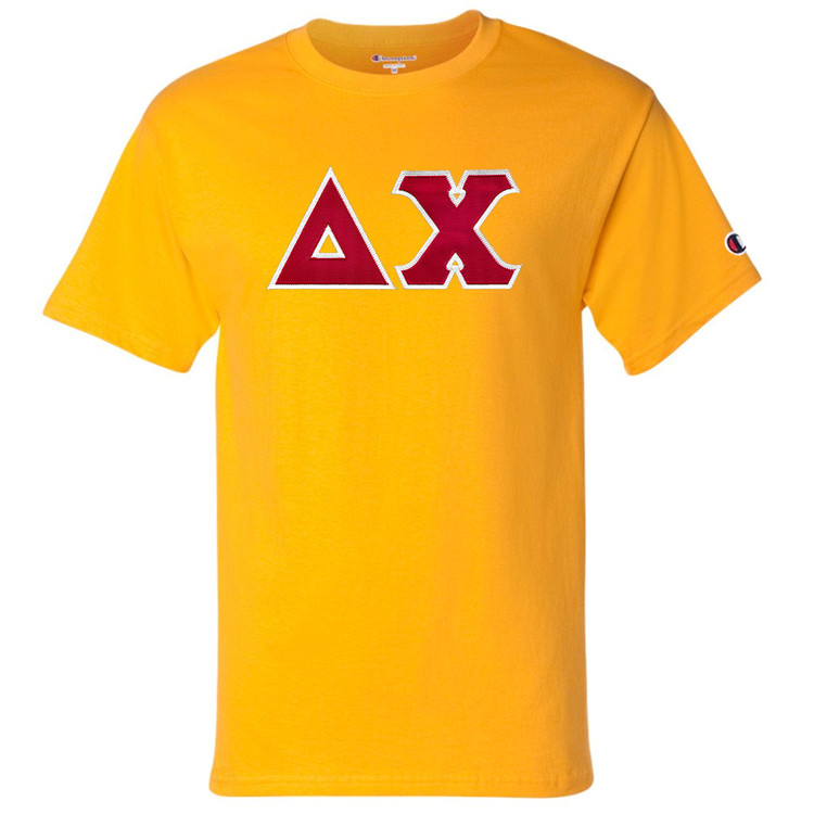 Fraternity & Sorority Lettered Champion Short Sleeve T-Shirt