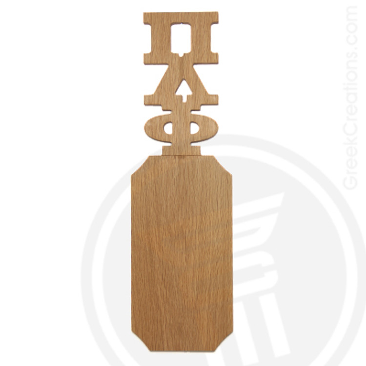 Pi Lambda Phi 21 Inch Blank Greek Letter Paddle