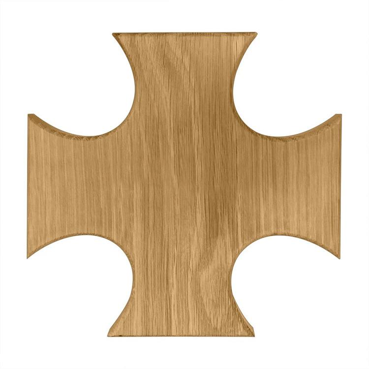 Alpha Tau Omega Maltese Cross Board or Plaque