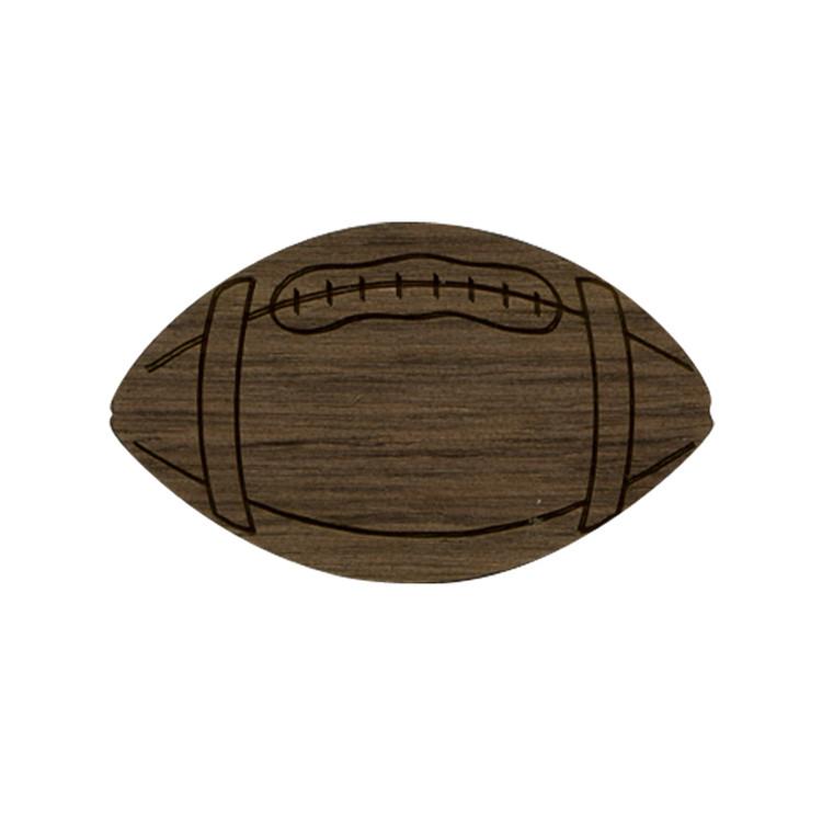 Wooden Football Symbol