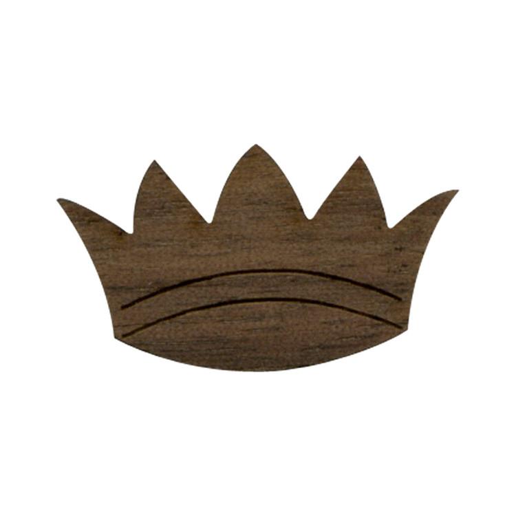 Wooden Crown Symbol
