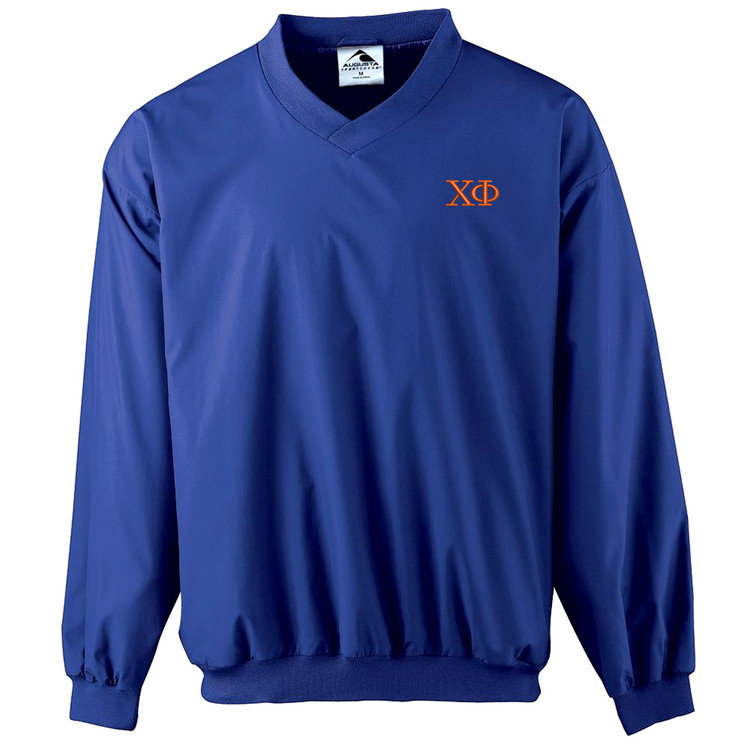 Fraternity & Sorority Embroidered Windshirt Pullover