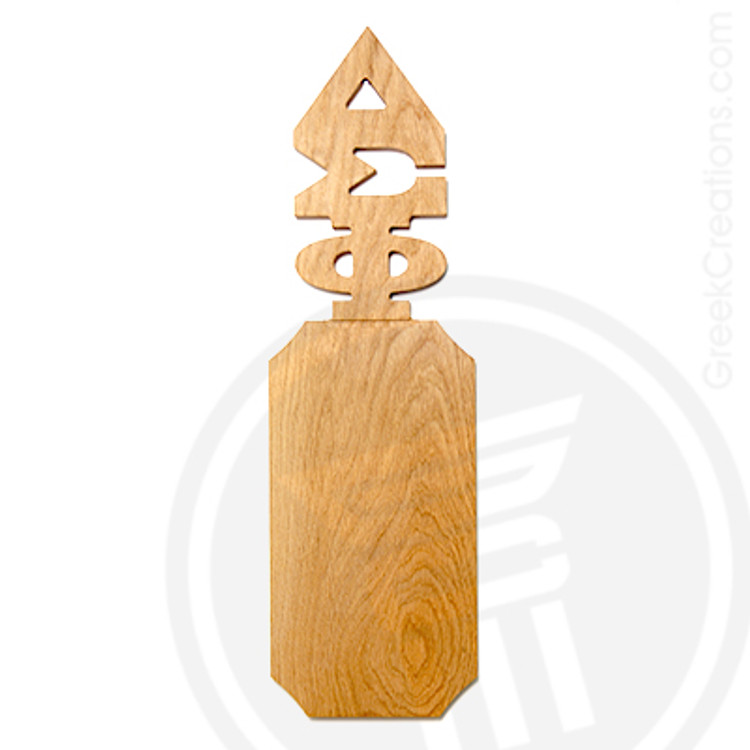 Delta Sigma Phi 21 Inch Blank Greek Letter Paddle