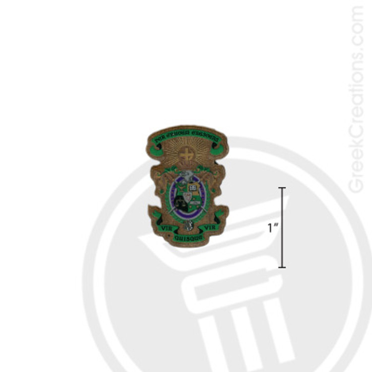 Lambda Chi Alpha Small Raised Wooden Crest