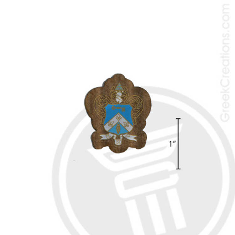 Kappa Kappa Gamma Small Raised Wooden Crest