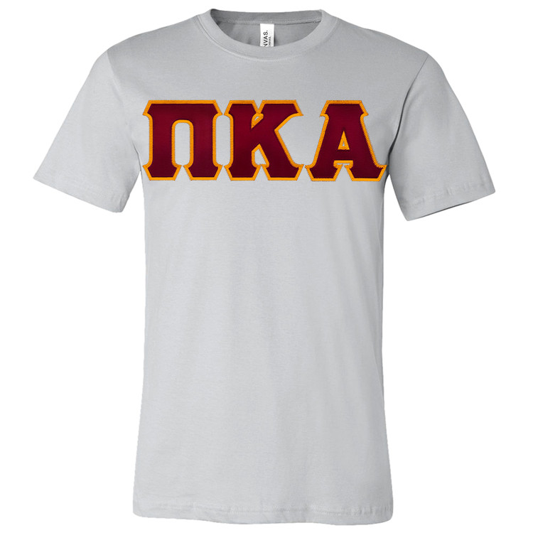 Fraternity & Sorority Lettered Canvas Jersey T-Shirt