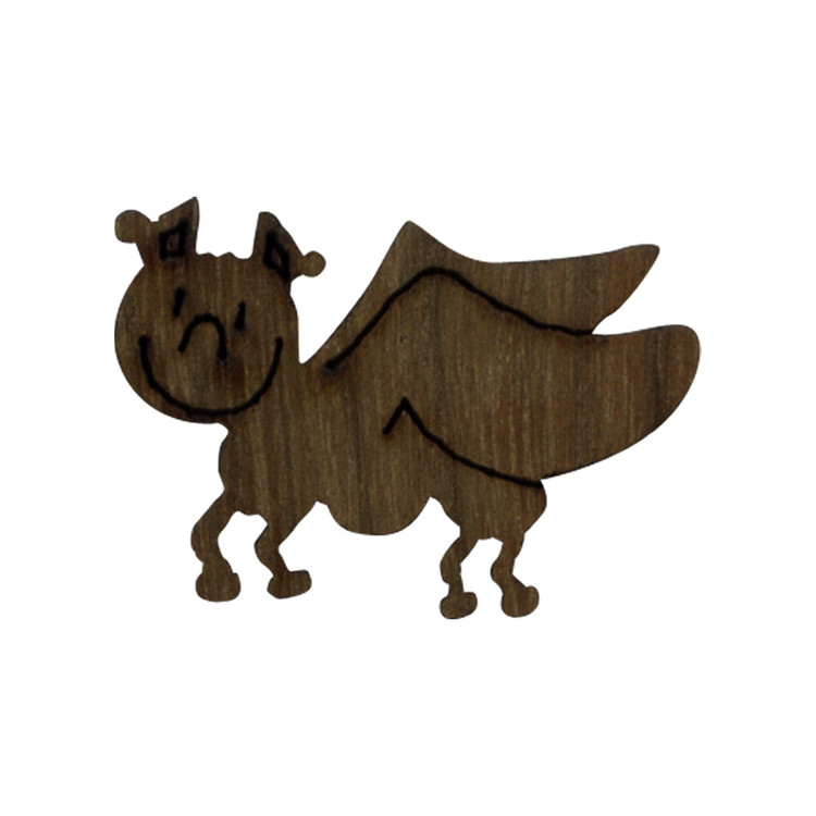 Wooden Katydid Symbol