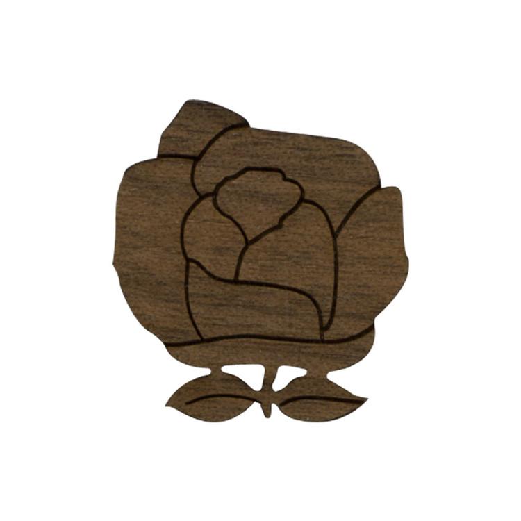 Wooden Rose Symbol