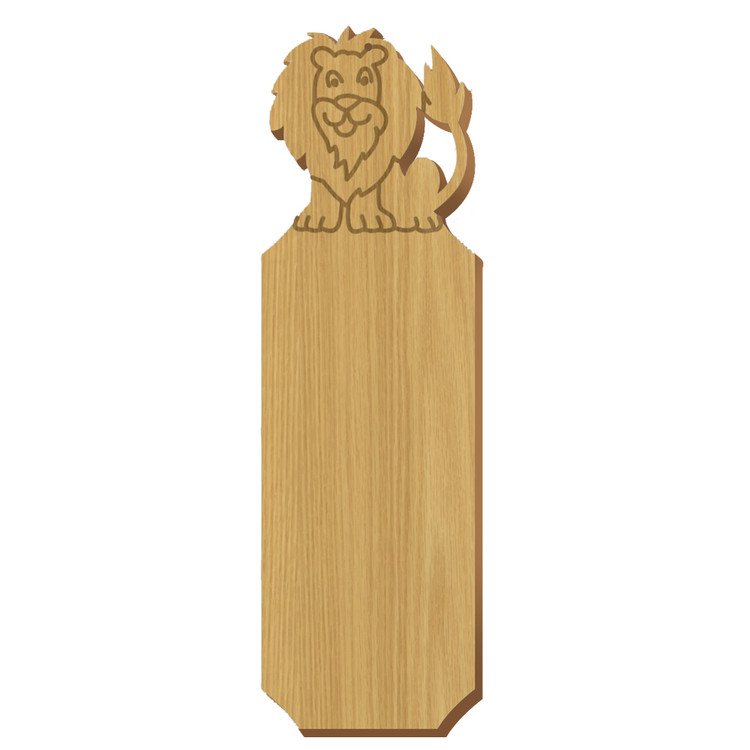 Alpha Epsilon Pi Lion Oak Plaque