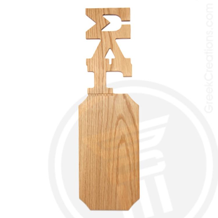 Sigma Lambda Gamma 21 Inch Blank Greek Letter Paddle
