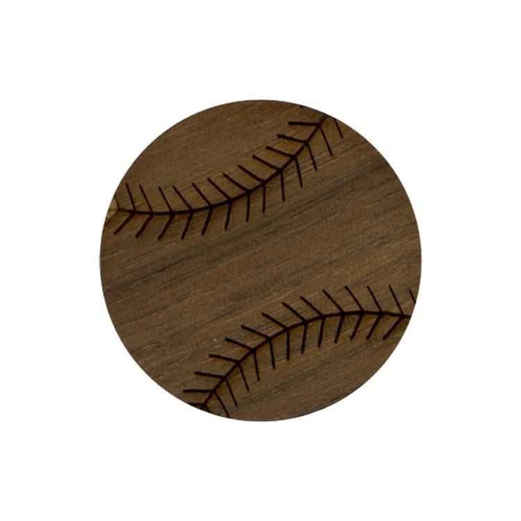 Wooden Baseball Symbol