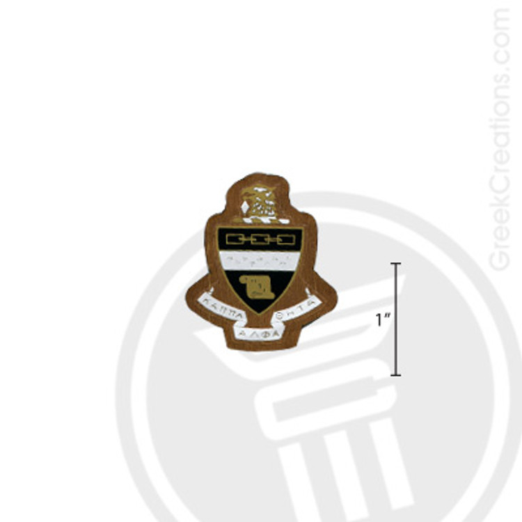 Kappa Alpha Theta Small Raised Wooden Crest