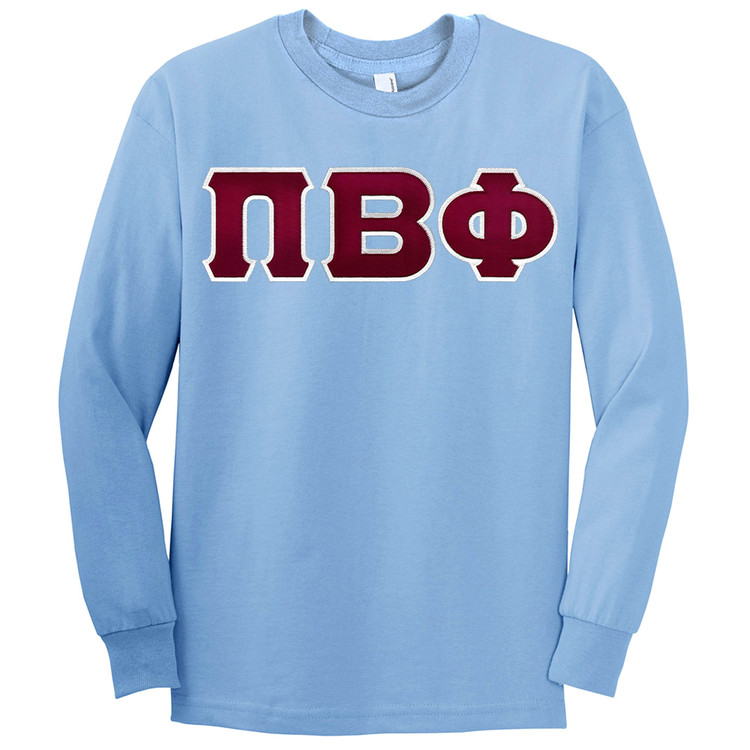 Fraternity & Sorority Lettered American Apparel Long Sleeve T-Shirt