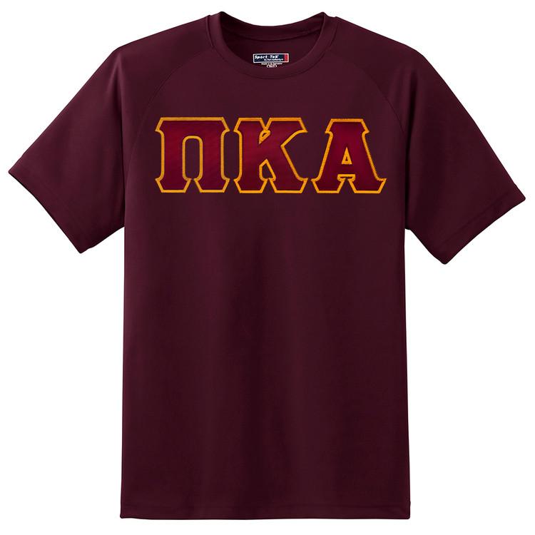Fraternity & Sorority Lettered Sport Tek Dry Zone T-Shirt