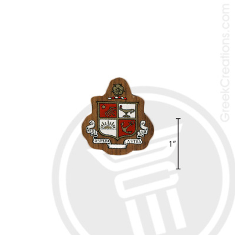 Beta Sigma Psi Small Raised Wooden Crest