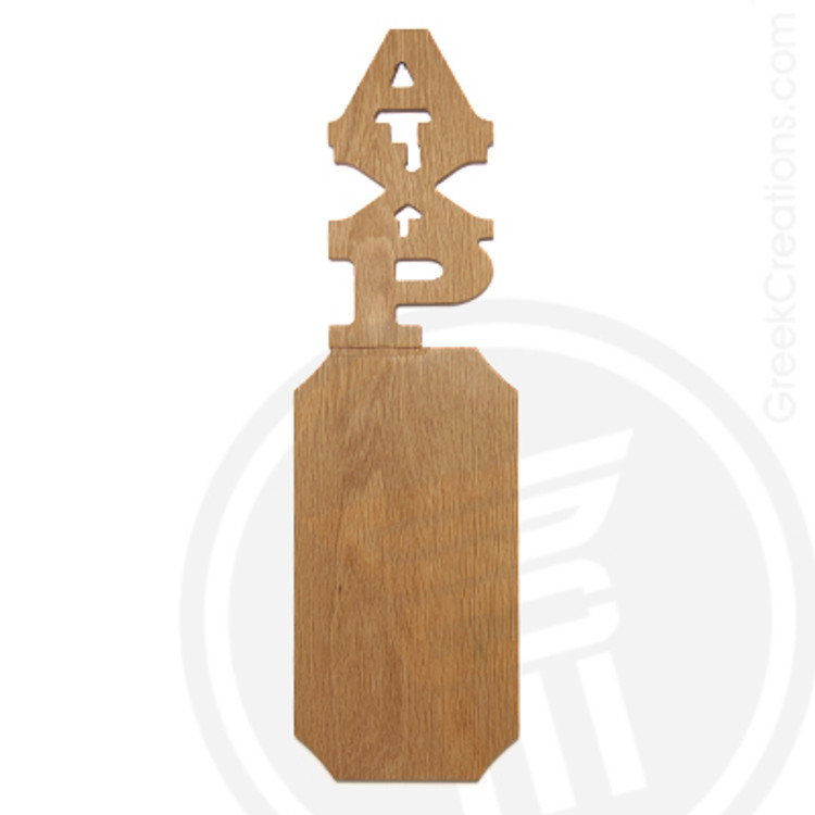 Alpha Chi Rho 21 Inch Blank Greek Letter Paddle