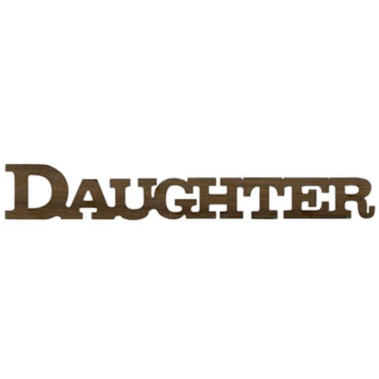Logo Text - Daughter
