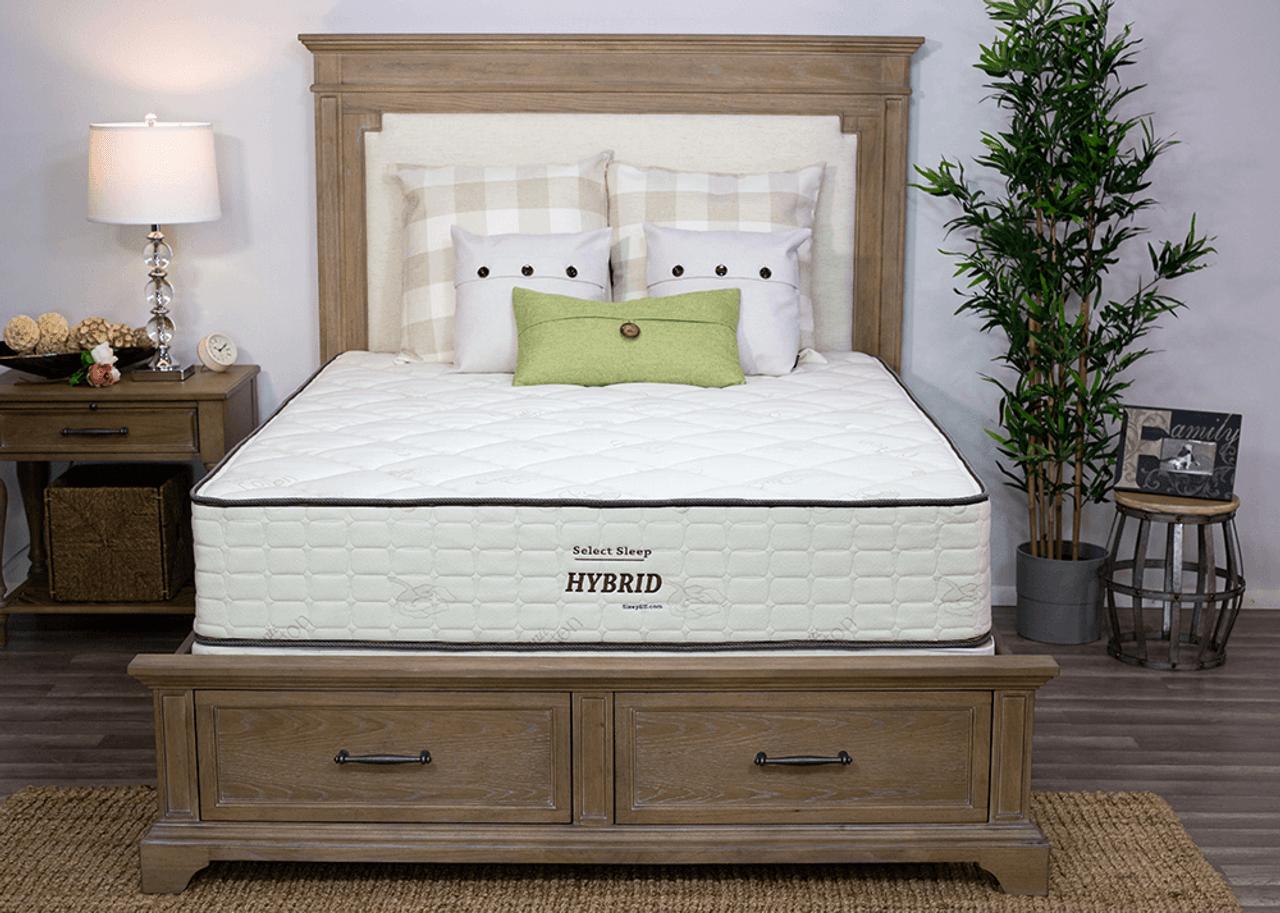 Adjust the Sleep Ez latex mattress