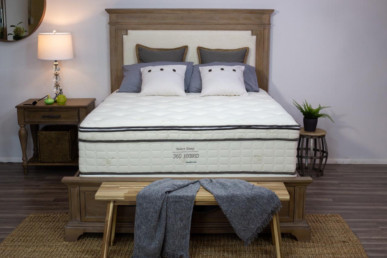 Sleep Ez vs Sleep on latex: Comfort level