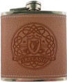 Harp Leather Flask | Irish Rose Gifts