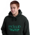 Irish Dragons Hooded Sweatshirt Forest | Irish Rose Gifts