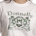 Vintage Coat of Arms Tee Shirt in White | Irish Rose Gifts
