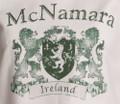 Vintage Coat of Arms Sweatshirt on White | Irish Rose Gifts