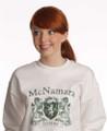 Vintage Coat of Arms Sweatshirt | Irish Rose Gifts