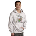 Irish Coat of Arms Hooded Sweatshirt in Ash | Irish Rose Gifts