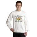 Irish Coat of Arms Sweatshirt White| Irish Rose Gifts