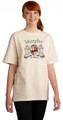 Irish Coat of Arms Tee Shirt in Natural