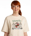 Irish Coat of Arms Tee Shirt Natural | Irish Rose Gifts
