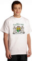 Irish coat of arms tee shirt