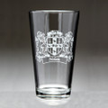 Lions Pint Glass - Irish Coat of Arms - Set of 4