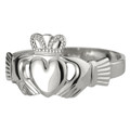 Ladies Claddagh Ring - Sterling Silver by Solvar S2271