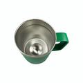 Irish Coat of Arms Travel Mug with Handle - Green - Inside